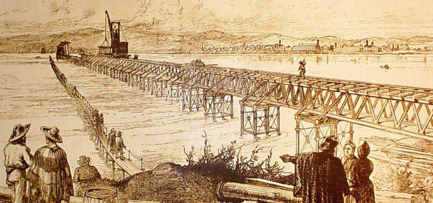 Resultado de imagen para puente ferroviario San pedro de la Paz