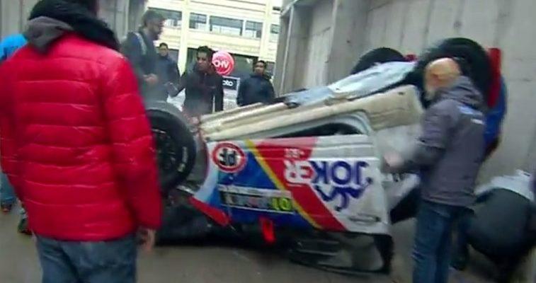 Carolina de Moras sufrió accidente junto a piloto de RallyMobil