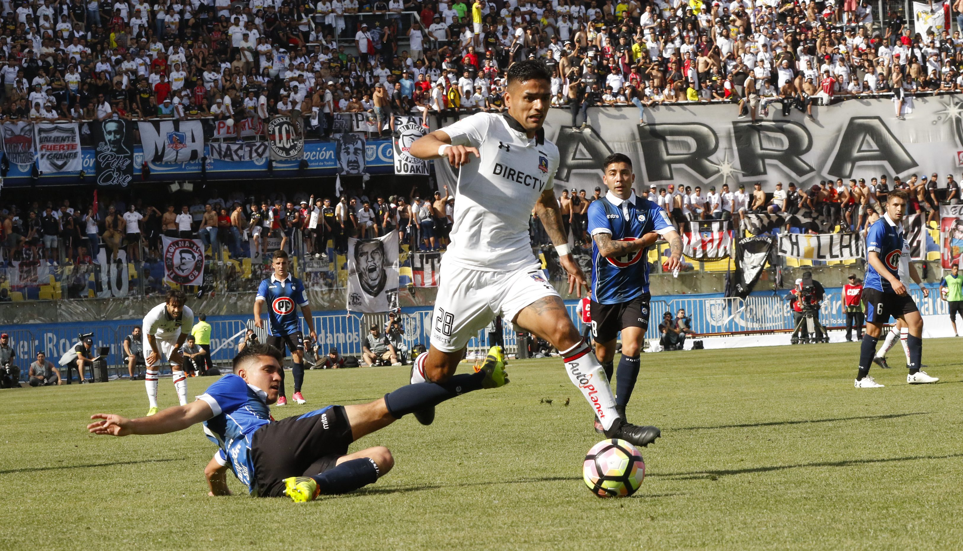 Colo Colo Vs Huachipato / Martin Rodriguez Chilean ...