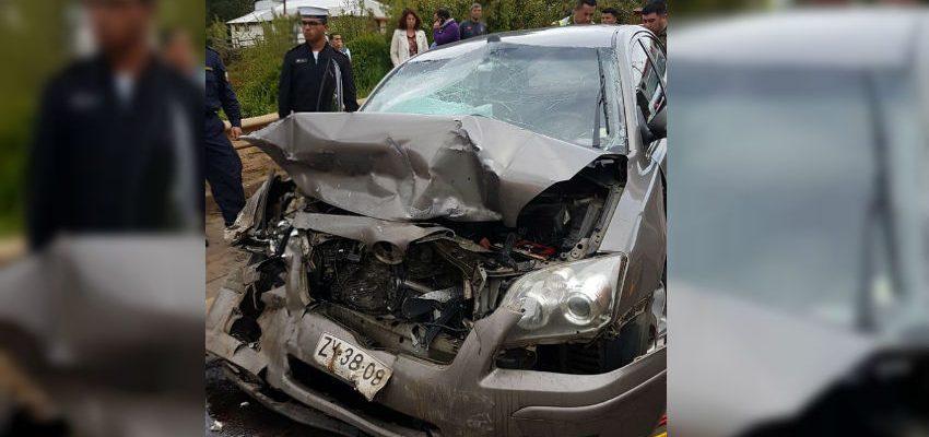 Colisión frontal en Los Álamos deja una víctima falta: alcalde (s) de Curanilahue fue derivado al hospital