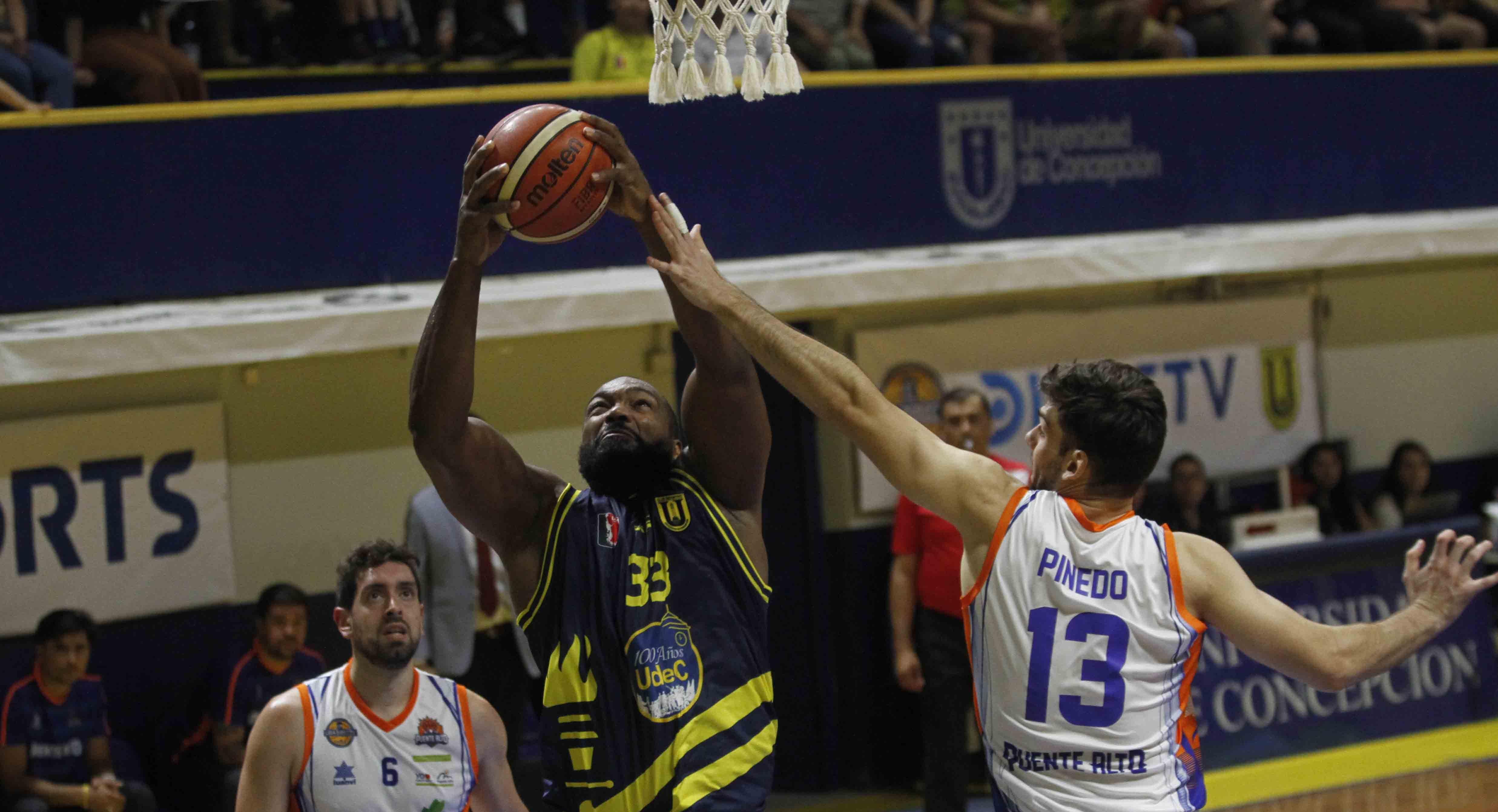Basket UdeC cayó ante Puente Alto en la prórroga - Diario Concepción