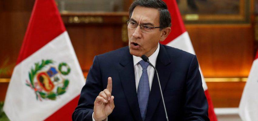 Presidente De Peru Anuncia Toque De Queda Luego De Aumento De Casos De Coronavirus