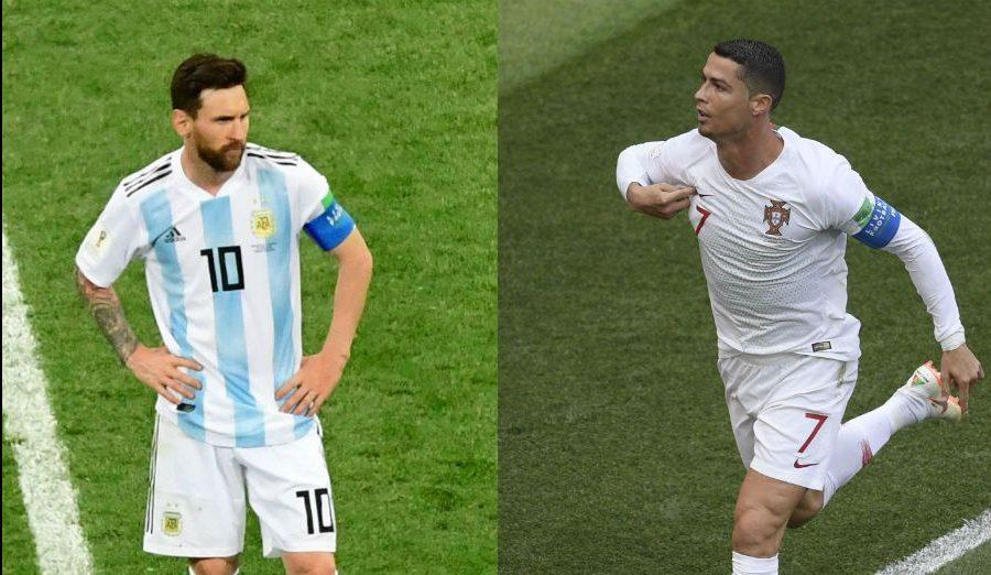 Cristiano arrasa con Messi en goles con la selección