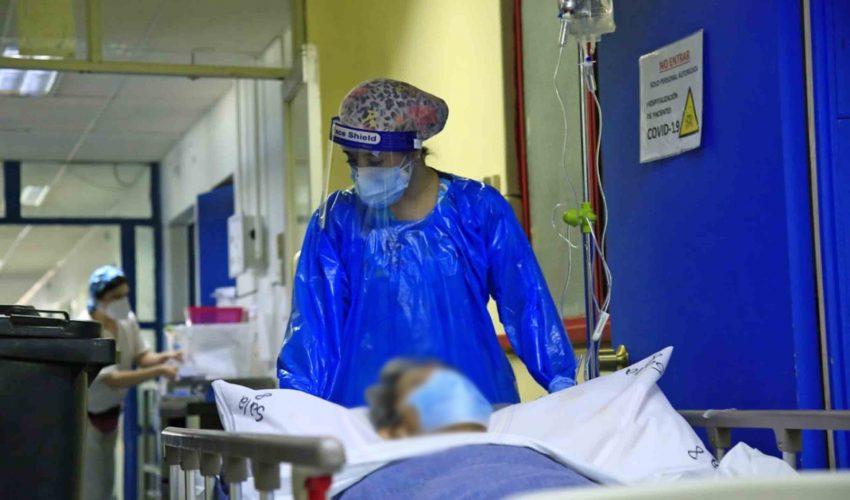 Reporte covid: 7.768 casos nuevos y 3.242 hospitalizados en UCI